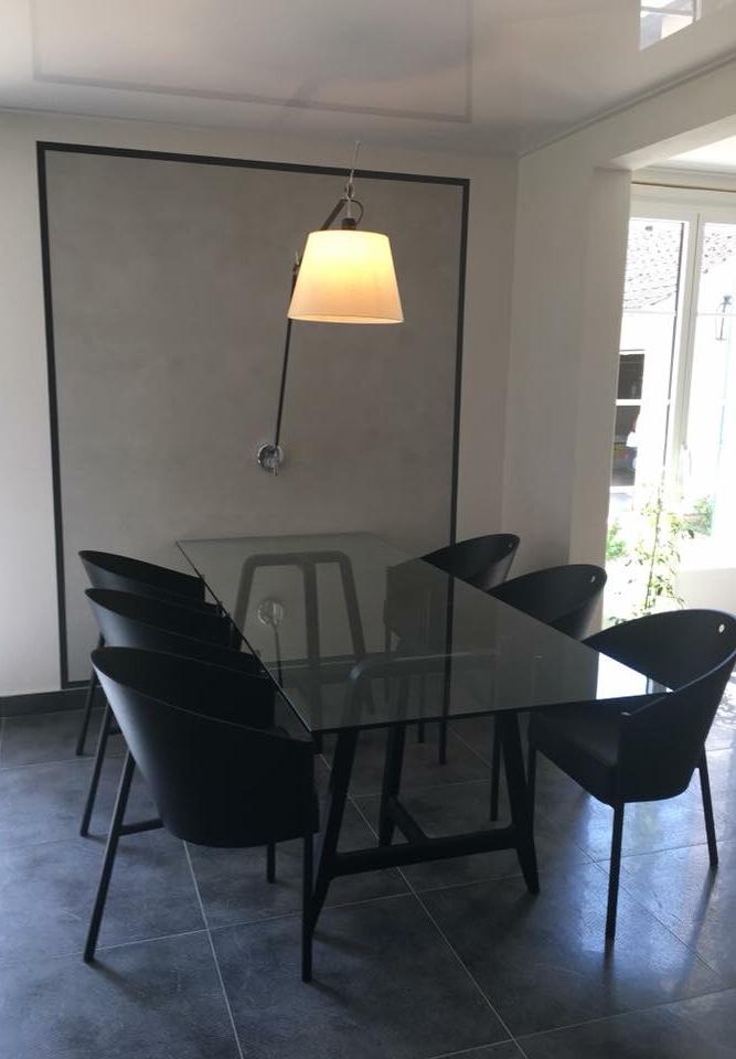 Espace repas création EF Design. mobilier Driade