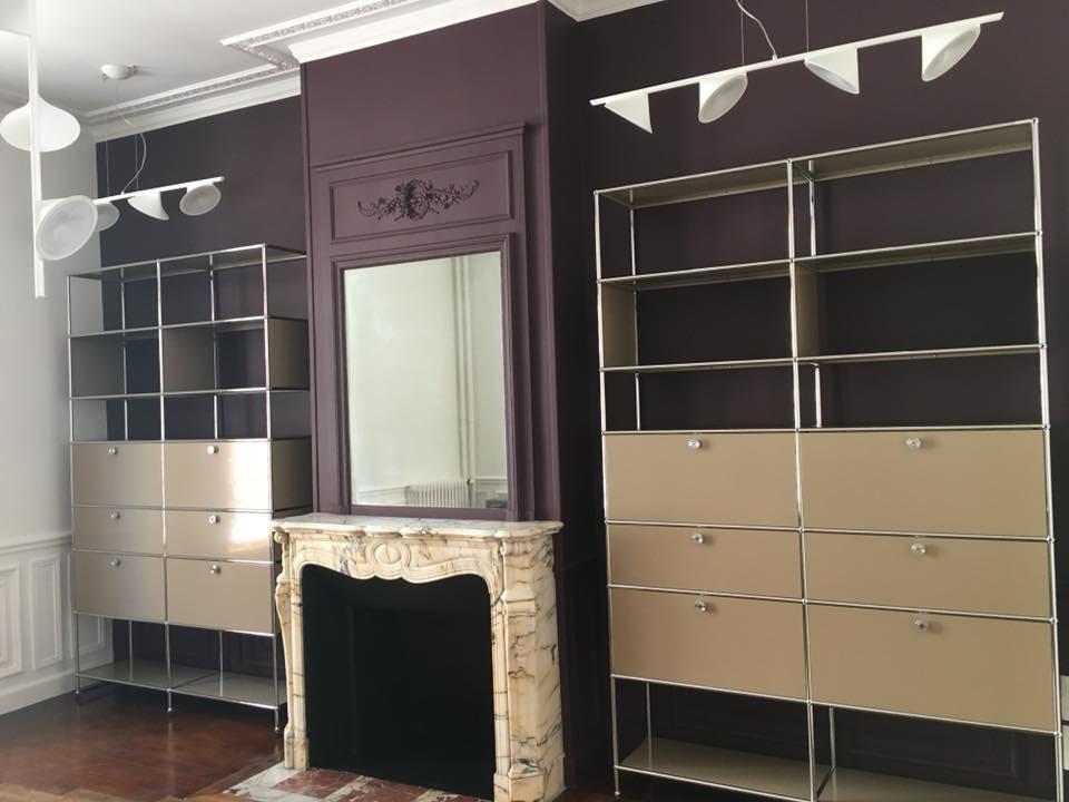Projet appartement haussmannien : bureau atytique