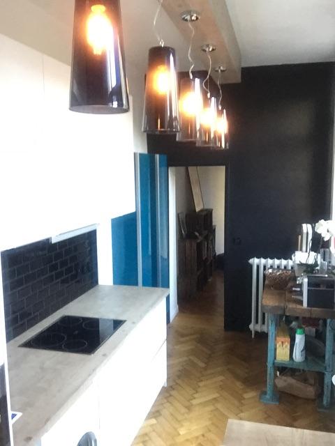 Création  compléte d'une cuisine style loft