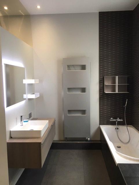 Création salle de bains complète